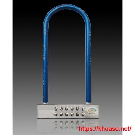 Khóa mật khẩu MT-103G khóa chữ U chống trộm xe máy, cửa kính, cổng…
