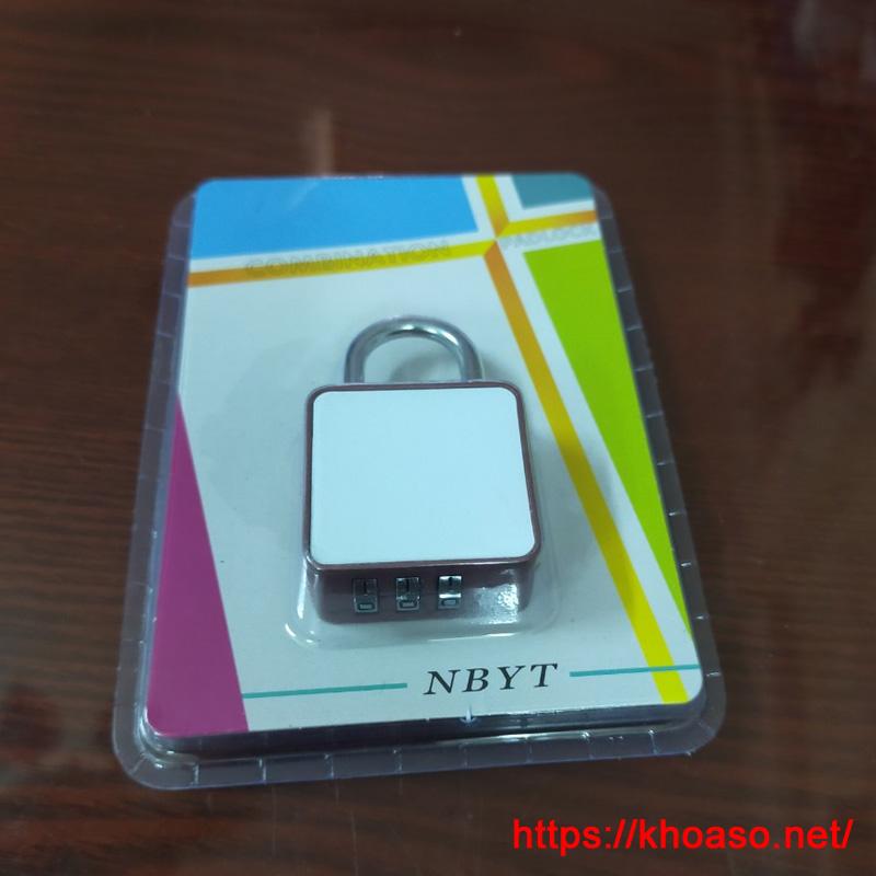 Khóa số chống trộm vali, balo, túi xách, ngăn tủ… NBYT DH102