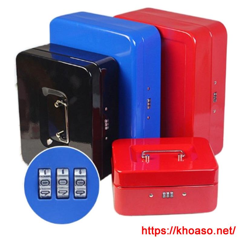 Hộp sắt đựng đồ đa năng bảo mật bằng mật khẩu 660