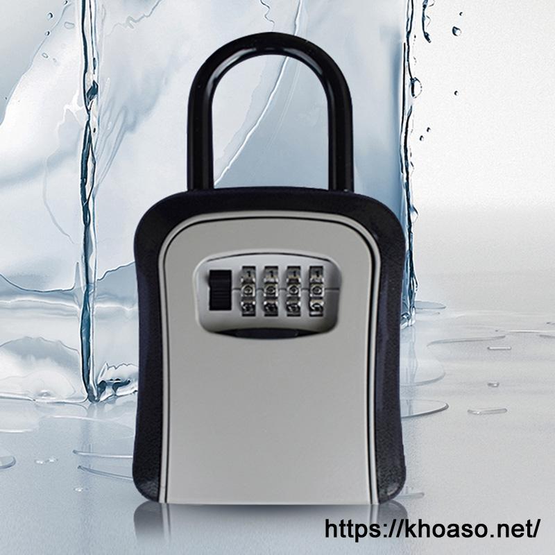 Hộp mật khẩu đựng chìa khóa G7 màu đen bạc 4 số
