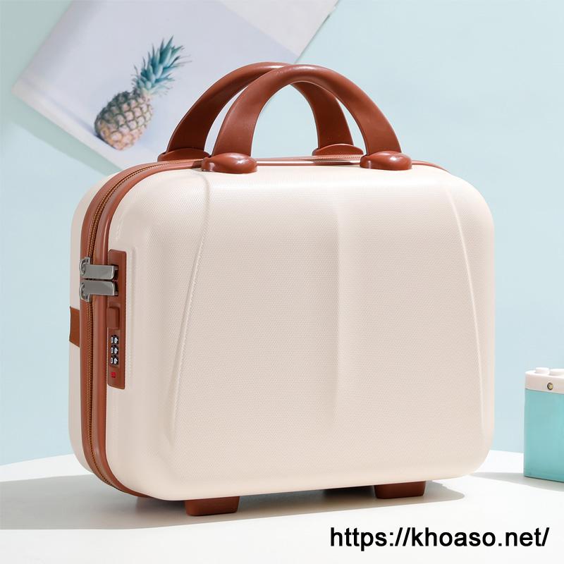 Vali nhỏ, túi đựng đồ trang điểm siêu nhẹ 14 inch ABS-PC